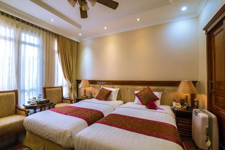 Violin HN | Cozy Twin Room | Near Kaengnam Tower