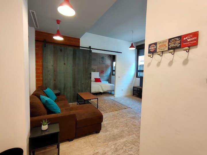 Moderno Loft, muy luminoso y confortable