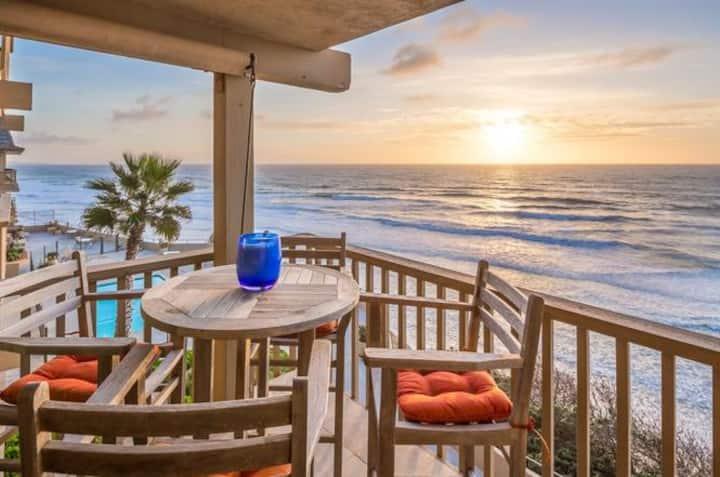 Ocean Front Del Mar Beach Community Condo
