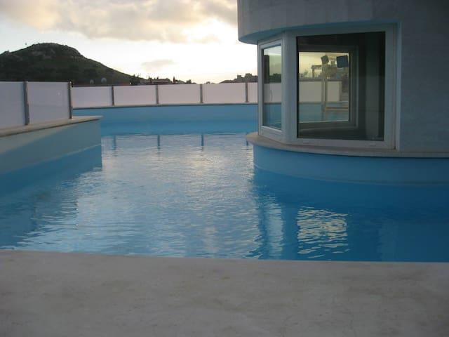 Attico e superattico di lusso con piscina