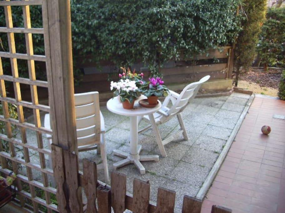 giardino ospiti