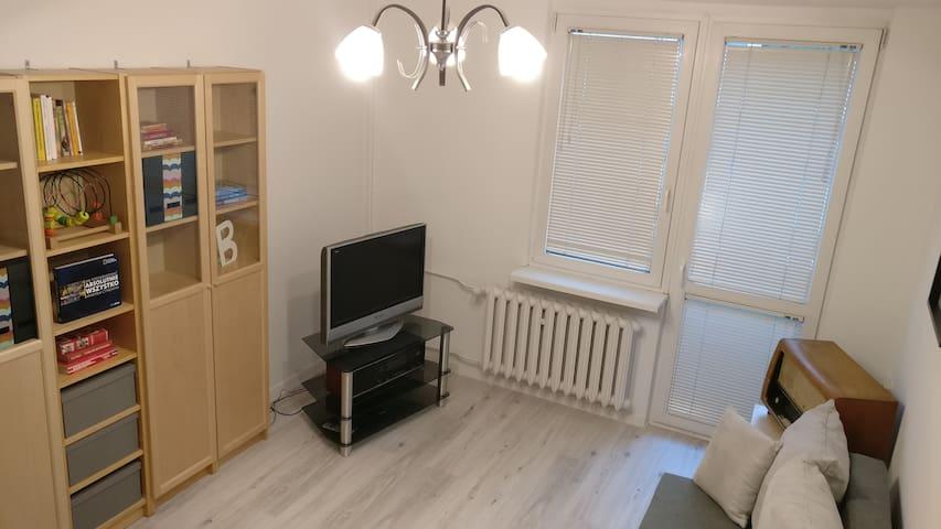 Comfortable 2-room flat next to Galeria Lodzka