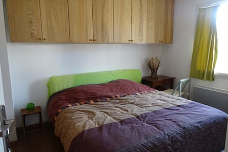 Double room with bathr. , kitch. - Vinsobres - Bed & Breakfast