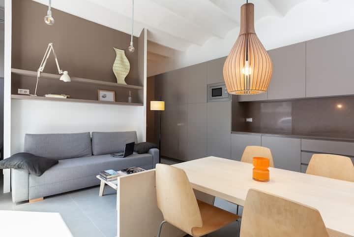Fantástica Habitación con Terraza y Piscina