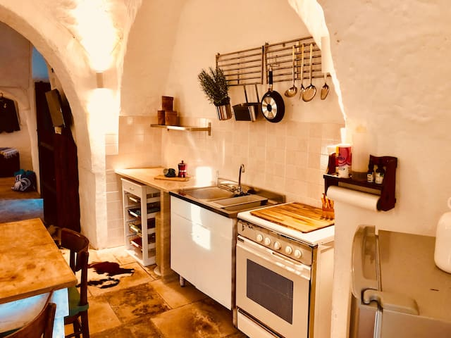kitchen section
