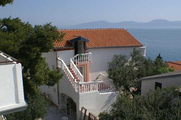 Two bedroom apartment with terrace and sea view Podaca, Makarska (A-2645-c) - Podaca - Apartment