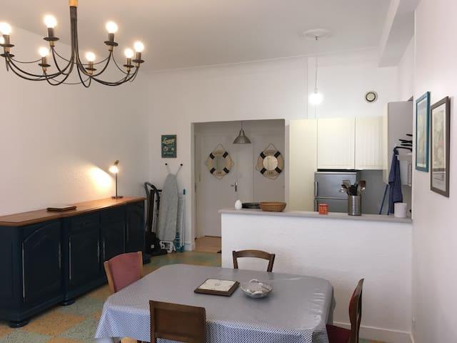 Appartement  à 5 mn du centre ville et de la plage