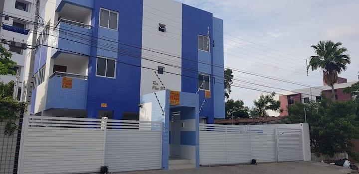 Residencial Blue Maison a 90 metros da Praia.