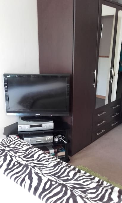 Sky Freeview and DVD player