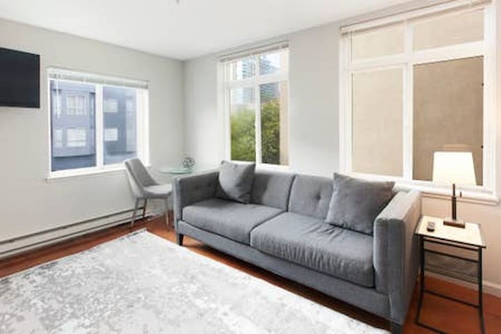 Remodeled SOMA Condo w Rooftop Deck
