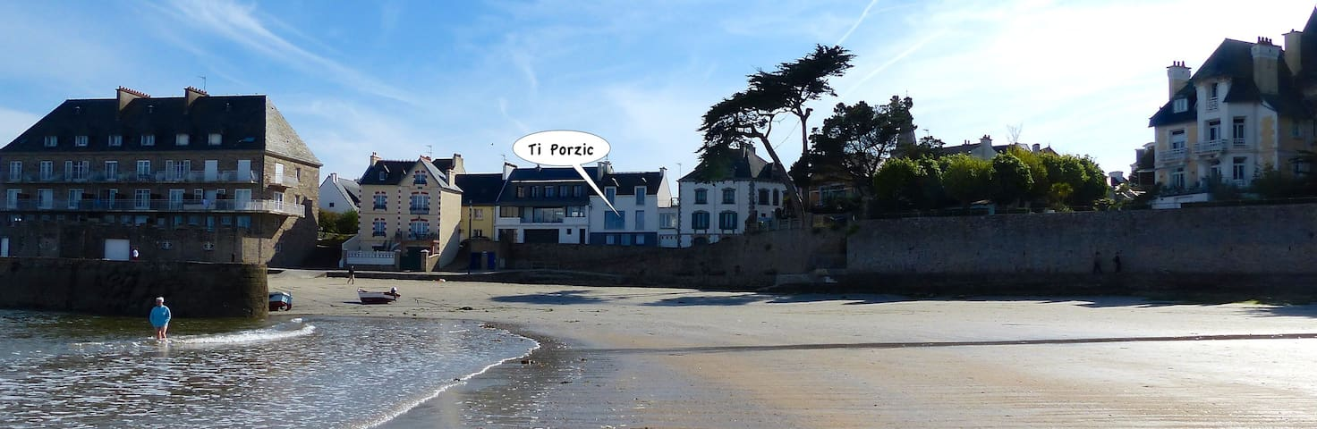 """Ti Porzic, soit """"la maison du petit port"""" - Larmor-Plage - Dům"""