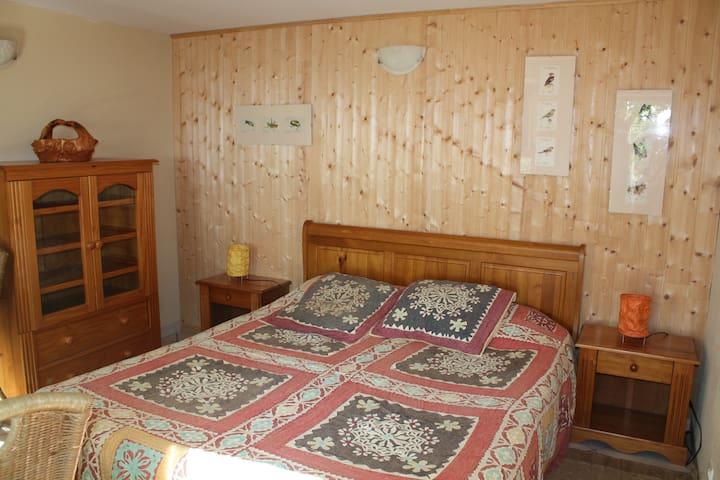 Votre chambre (1 lit double ou 2 lits simples)