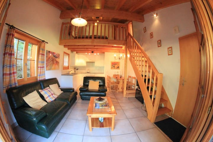 Lovely Studio with loft bed Verbier