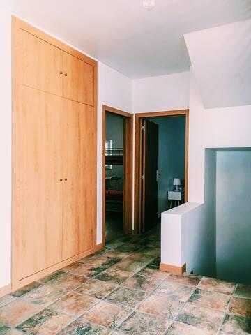 Hall de acesso ao quarto / bedroom access hall