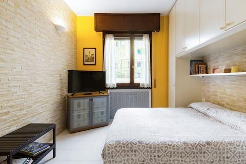 Mukava asunto 10 minuutin päässä Linate/Centro