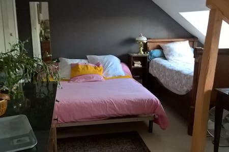Acceuil chaleureux dans ma maison Chambre Julie