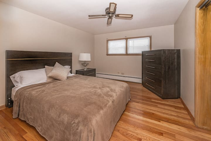 Master Bedroom With Ample Closet Space...