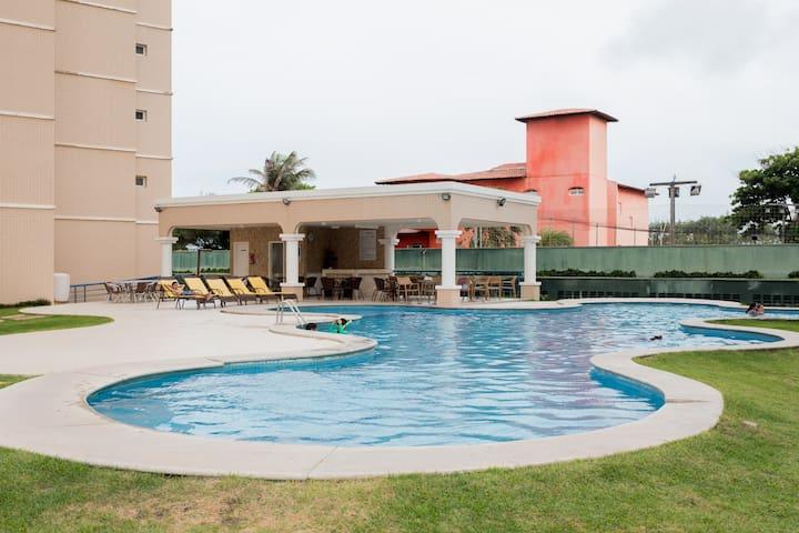 Beach Village Residence - Frente Mar - Apto 301