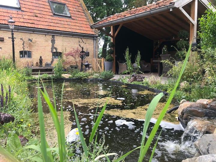 Zeer ruim appartement omgeving Harlingen/Franeker