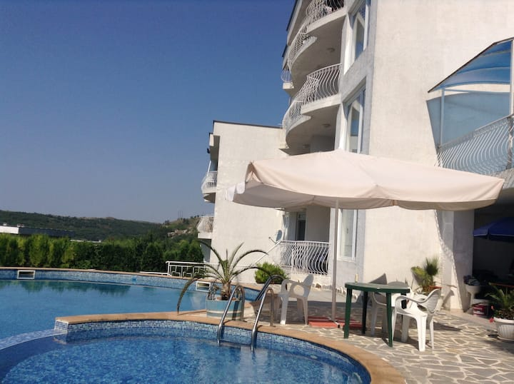 One bedroom apartment stunning sea view Kavarna