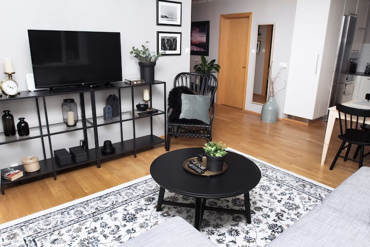 Bright and spacious 3bdr apartm. in city center