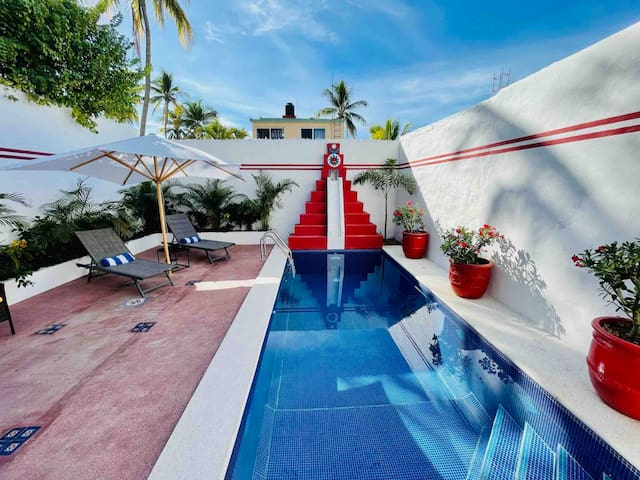 Casa Piramide (2 bedroom house with private pool)