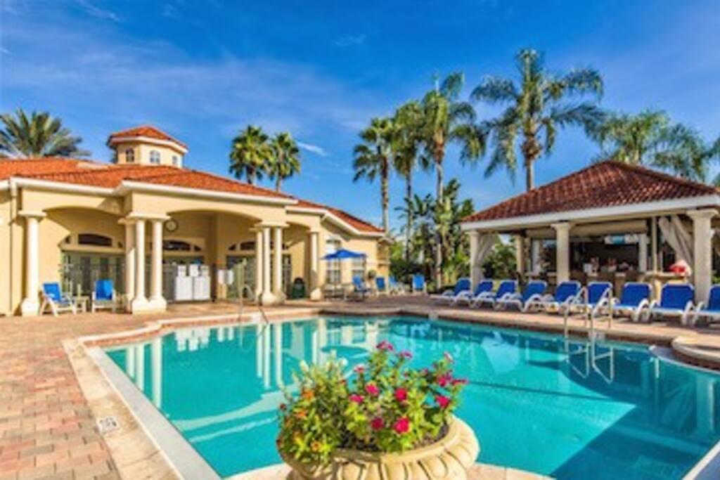 Resort Club House and Pool