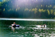 On Spoon Lake, pristine and 10 Minutes from West Glacier Park entrance