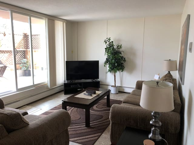 Spacious 1 bdr Centrally located close to downtown