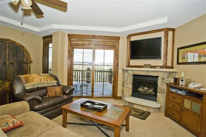 Living Room with a view of the Continental Divide!
