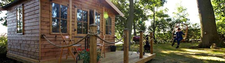 Woodland Cabin near Filey Bay
