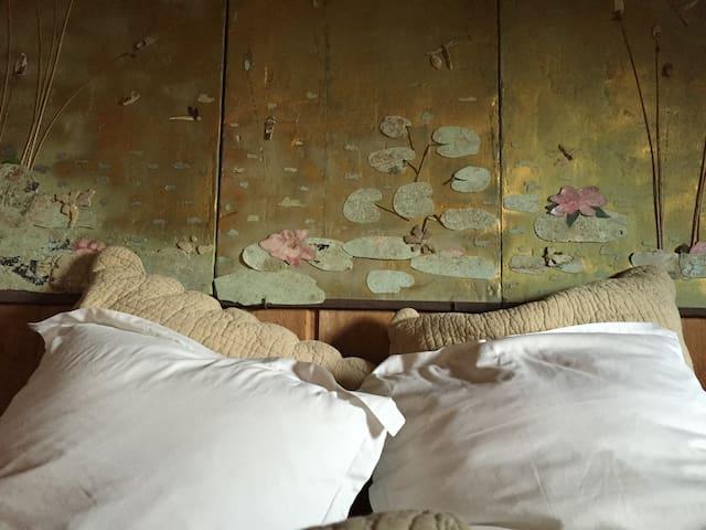 Detail inside treehouse Bagheera