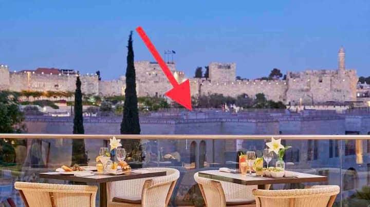 Tranquil Apt In David's Village/Mamilla,Jerusalem!