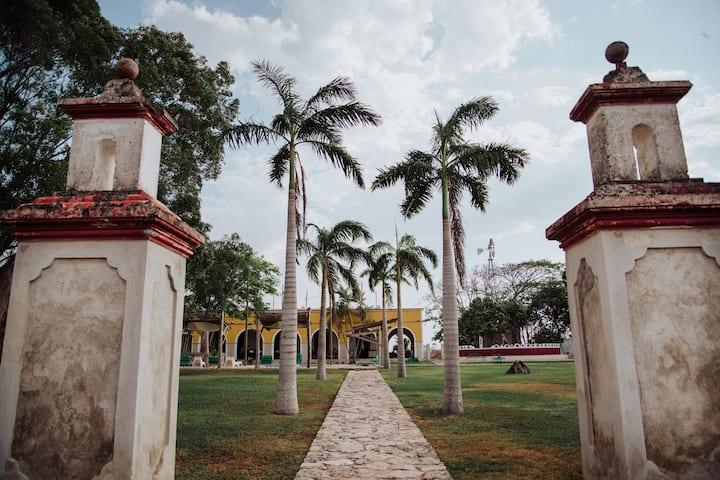 Hacienda Kankabal cerca de Mérida