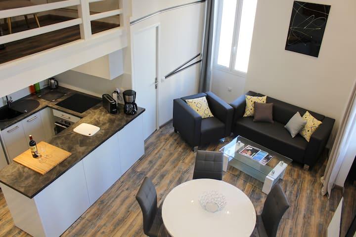 Superbe appartement en plein centre d'Antibes