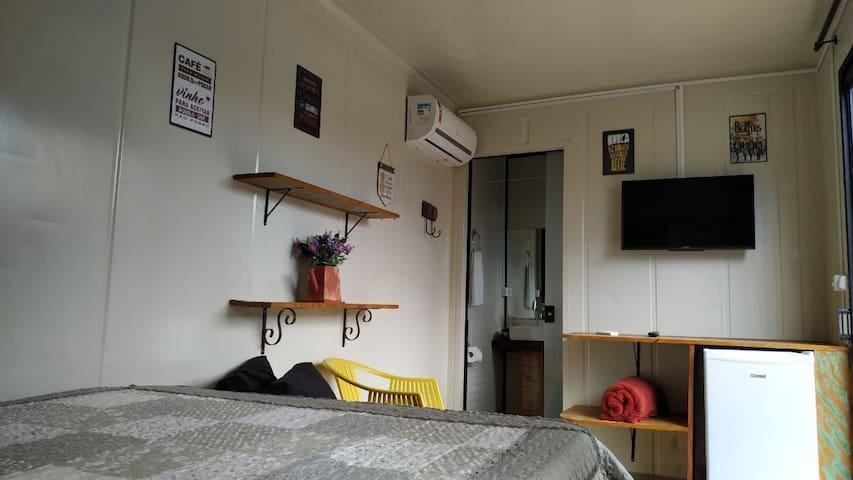Suite em Bombinhas Praia de Mariscal para 2 pessoas
