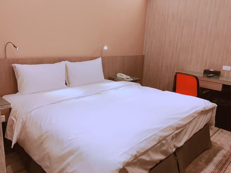 溫馨小巧的空間,讓您入住得更舒適、放鬆。