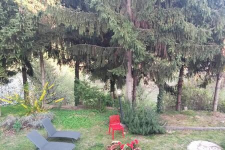 Maison dans le vert pas trop loin de turin