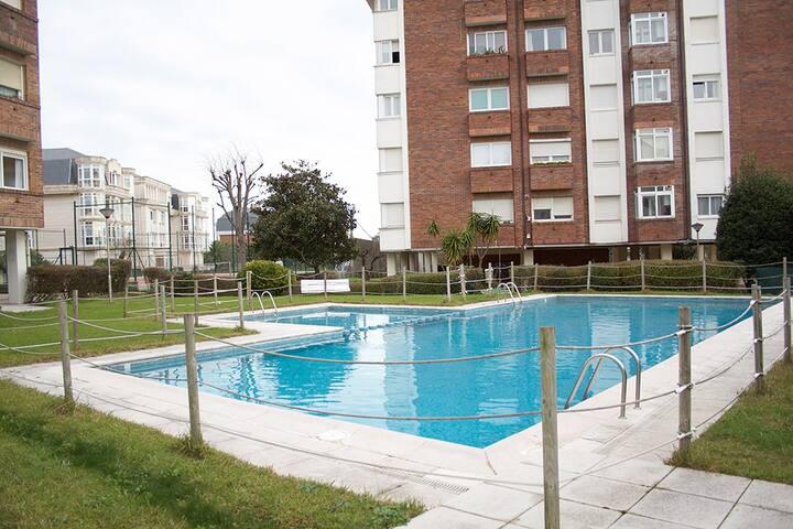Apartamento para 4 en Valdenoja