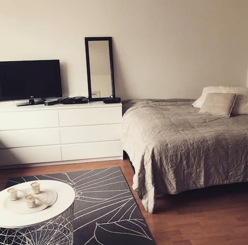 2 Bedrooms at Centrum, 600 m to Ratina Stadion