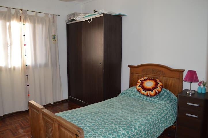 Cálido y confortable departamento en Santa Fe
