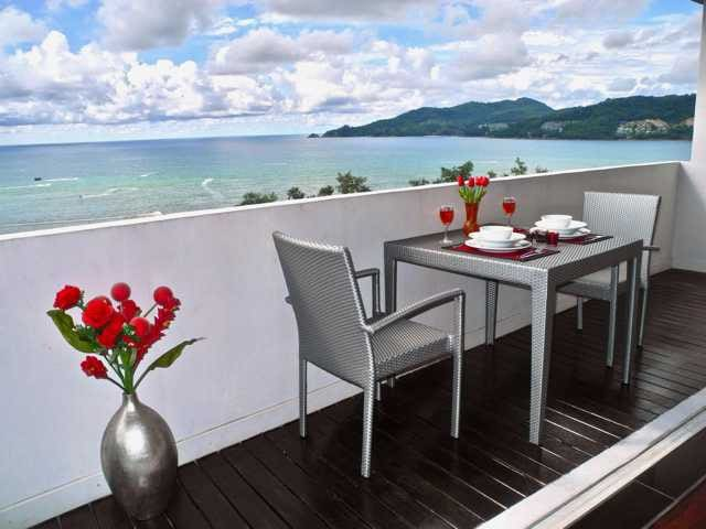 Sea View Apartment 100m to Patong Beach