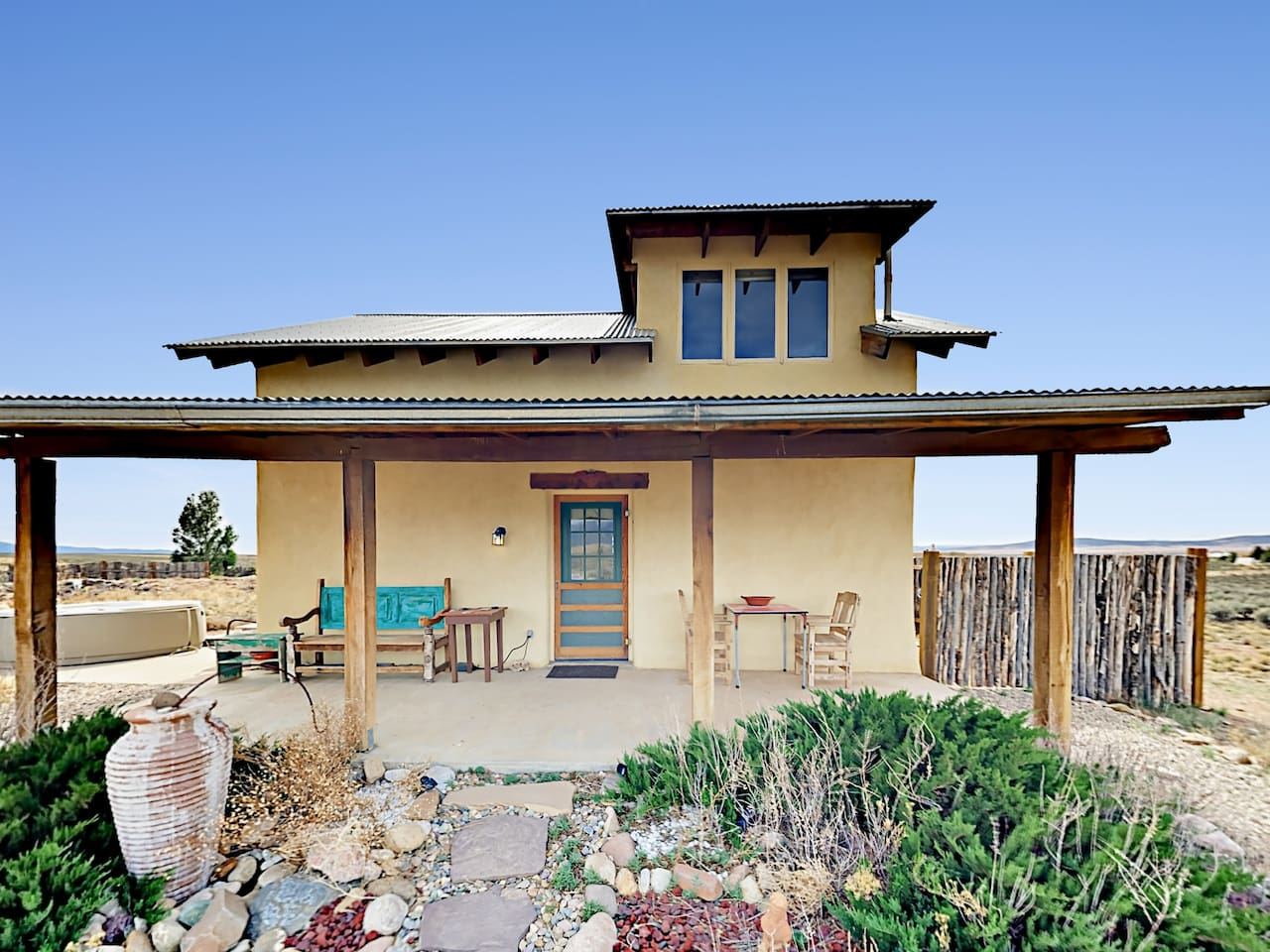 Welcome to Taos! This unique, solar-designed home is professionally managed by TurnKey Vacation Rentals.