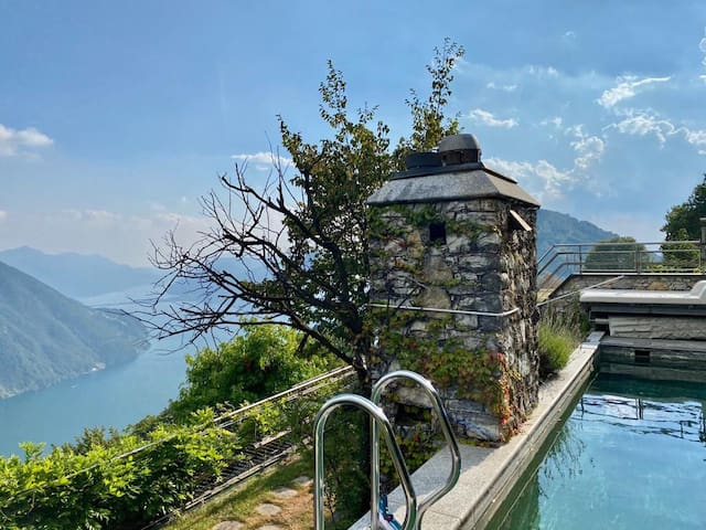 VILLA BRE' - STUNNING view and BREATHTAKING pool