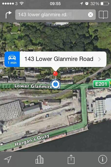 143, Sunnyside, Lower Glanmire  road. Cork