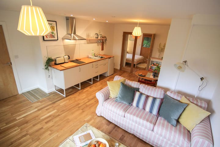Eco-Studio, great location, with parking - Saint Ives - Apartament