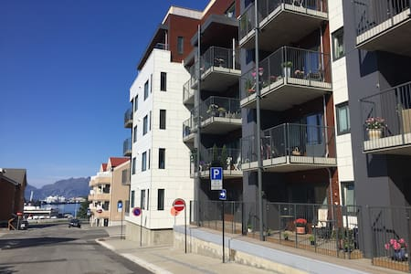 New modern apt. 71 kvm. 5 mins walk to city center