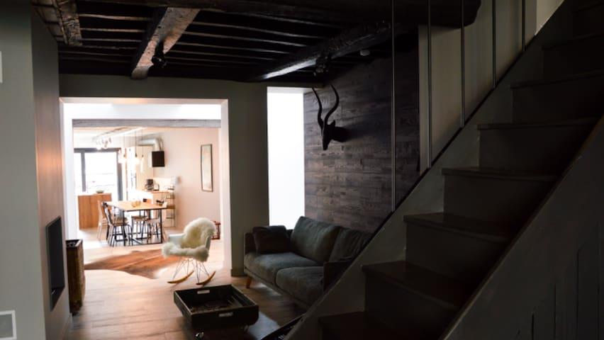 La maison du Brutz - Gîte d'exception à Bouillon