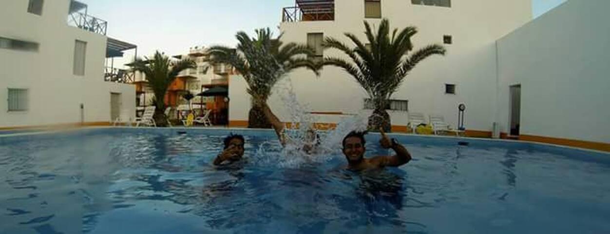 Casa playa Cerro Azul - Surf - Cerro Azul - Apartamento