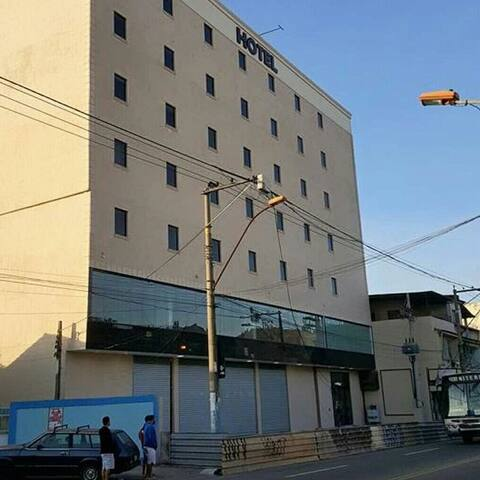 Hotel Dom Quixote. Primeiro Hotel em São Gonçalo